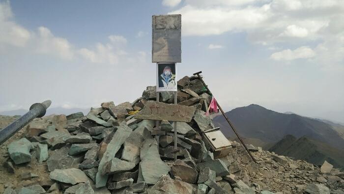 قله خلنو - زیباترین کوه های ایران