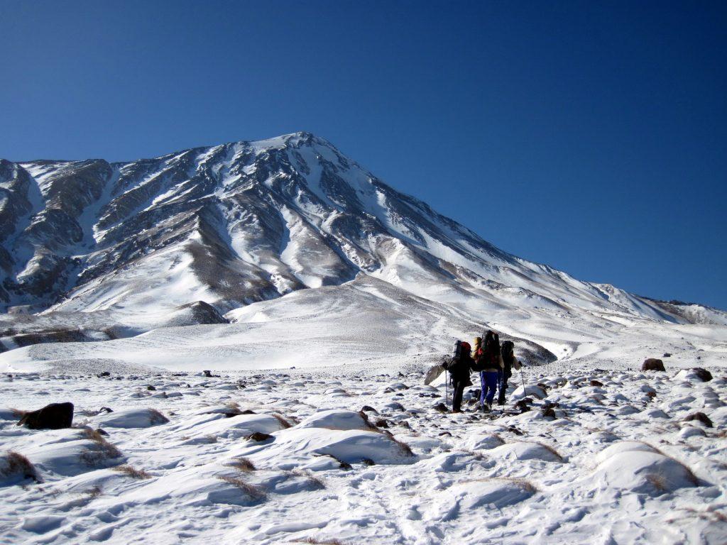 شمالی دماوند - دشت ناندل - کوهنورد ایرانی