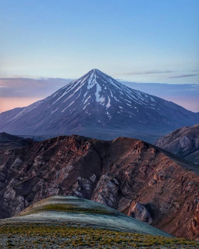 کوهنورد ایرانی - دماوند