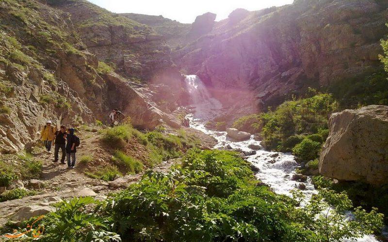 مناطق طبیعت گردی اطراف تهران