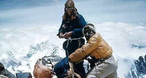 ادموند هیلاری - موج کوه