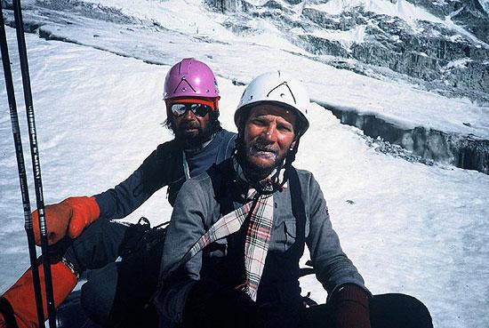 آندره زوادا - کوهنوردی