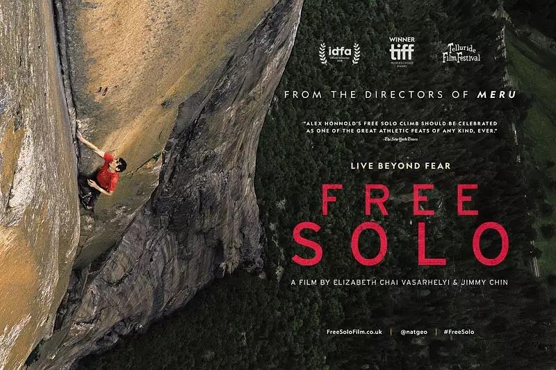 فیلم کوهنوردی - فری سولو