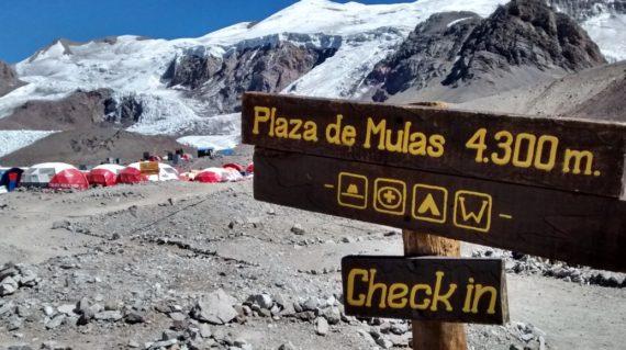 بلندترین قله قاره امریکا