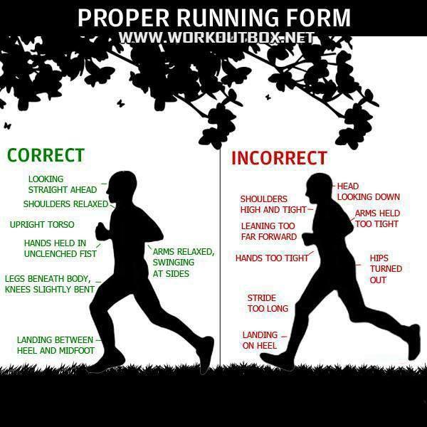 صحیح دویدن