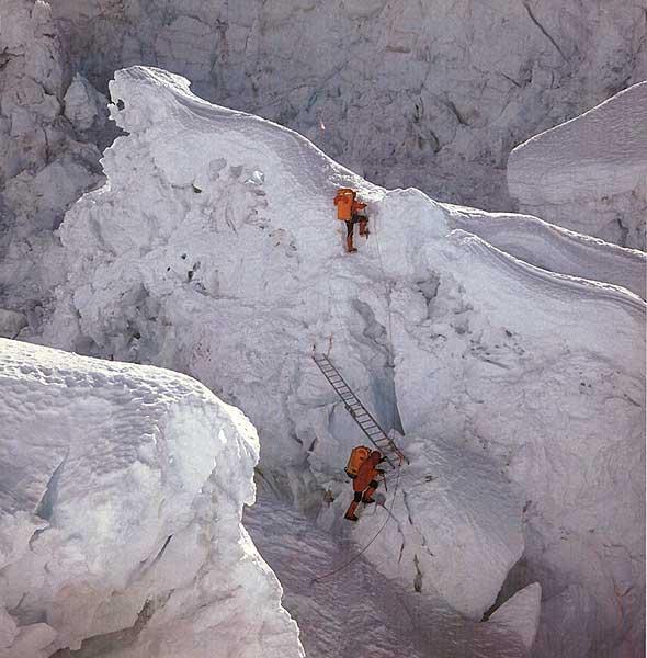 زمستانی اورست - موج کوه