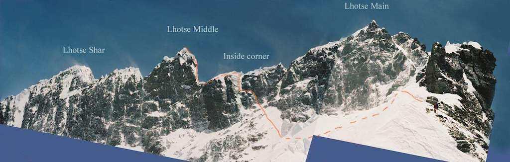 لوتسه میانی - موج کوه