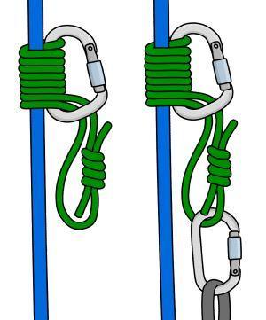 گره پروسیک (به عنوان گره اصطکاک هم گاها شناخته می شود.) یک تکه طناب کوتاه است که به منظور افزایش اصطکاک به دور طناب اصلی پیچیده می شود. آنها می توانند به راحتی روی طناب اصلی بالا و پایین بروند اما با آوردن وزن به آنها قفل می شوند.