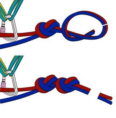فرود Abseiling- rappelling یک روش ساده برای پایین آمدن روی طناب می باشد. شما می توانید در برخی از صعودها با پیاده روی به پایین بازگردید ، اما در بسیاری از شرایط این امکان پذیر نیست.