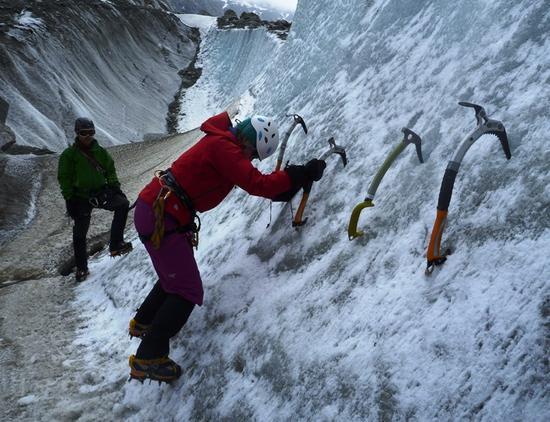 تمرین کوهنوردی برای تازه کارها