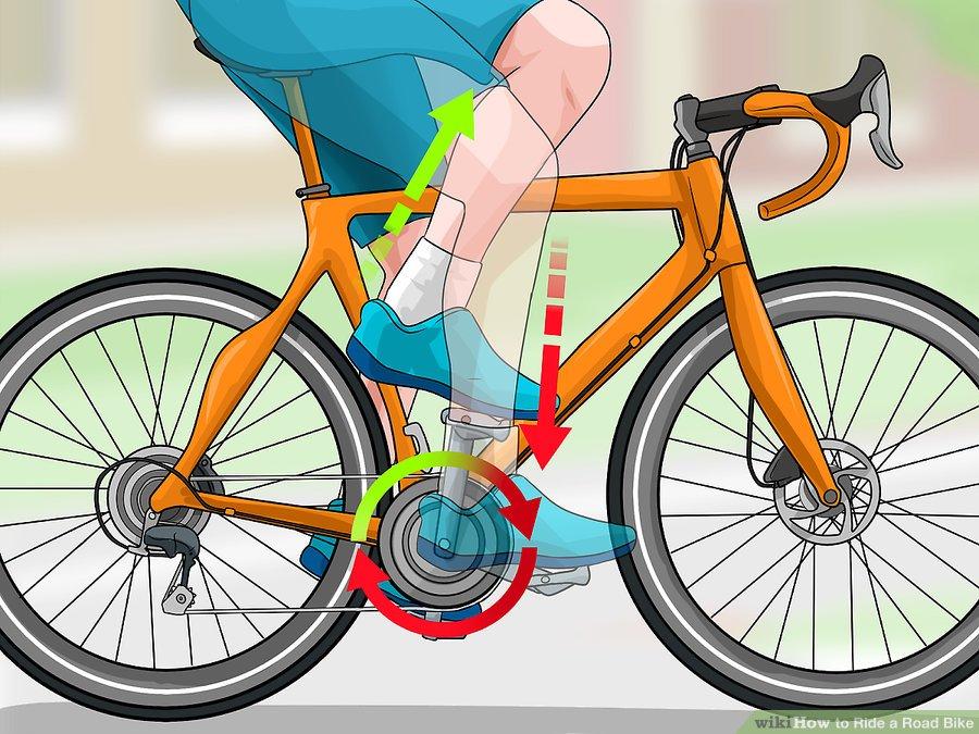 تکنیک دوچرخه سواری