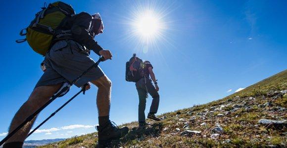 چند روز در هفته کوهنوردی کنیم