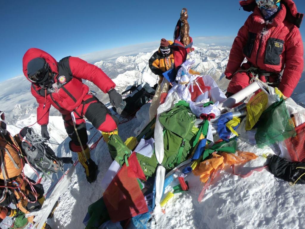 عکس قله اورست