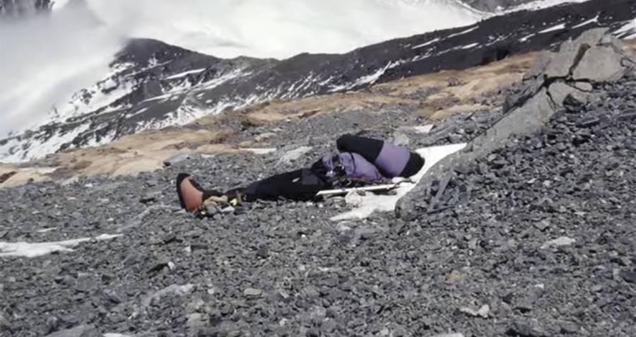 حسد در مسیر قله اورست