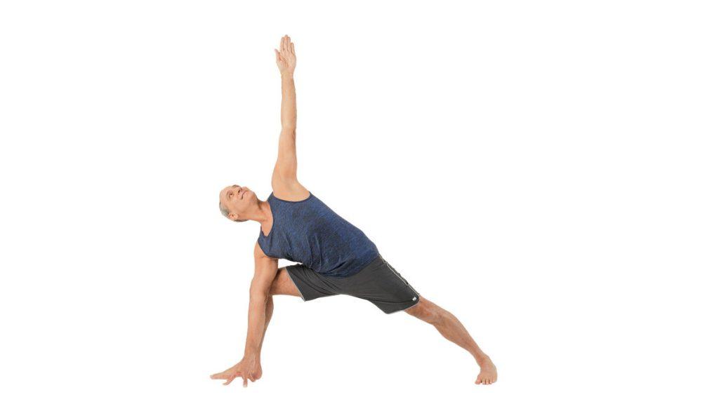 حرکت کشش جانبی در یوگا