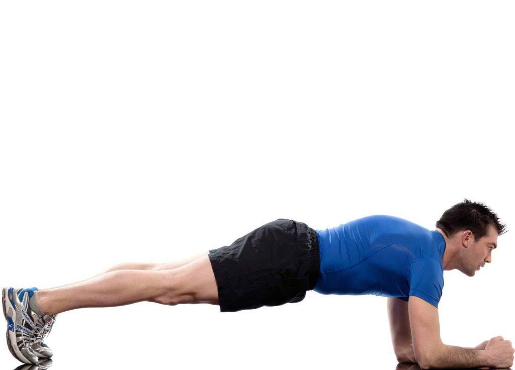 حرکت پلانک و پلانک از بغل در یوگا
