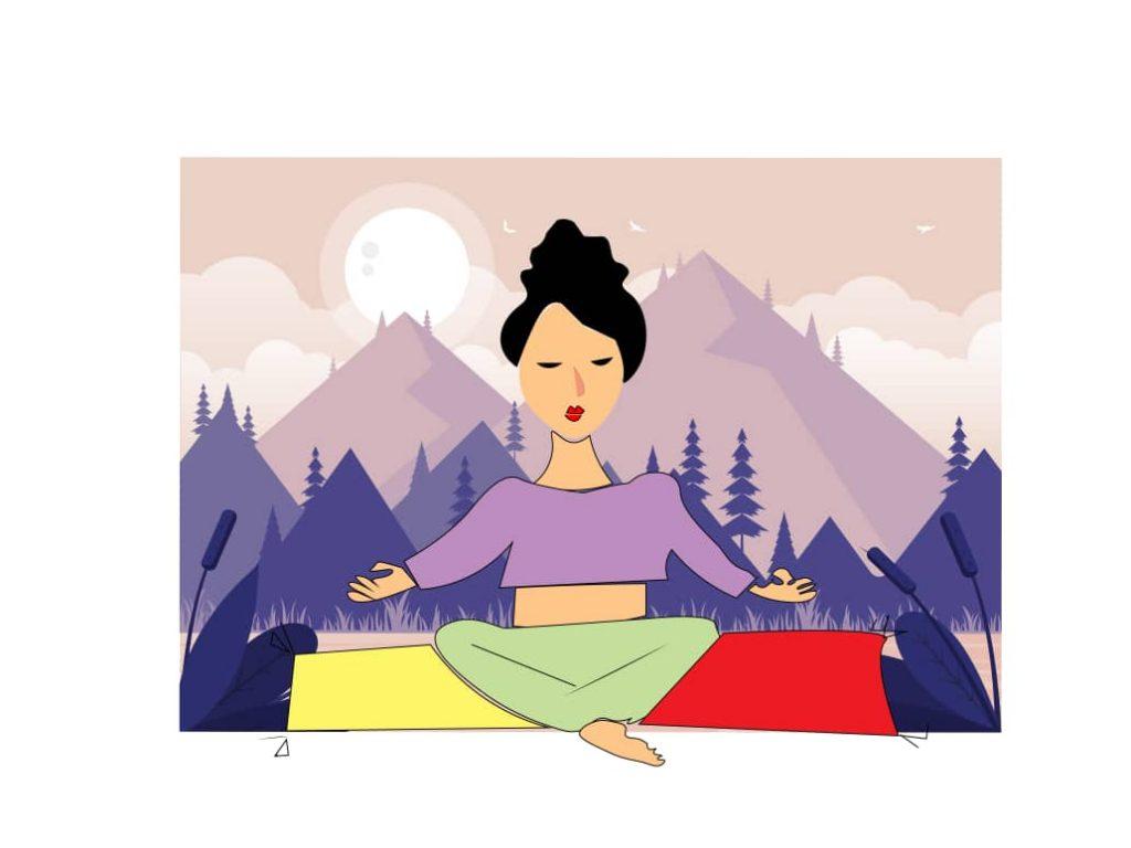انواع حرکات یوگا