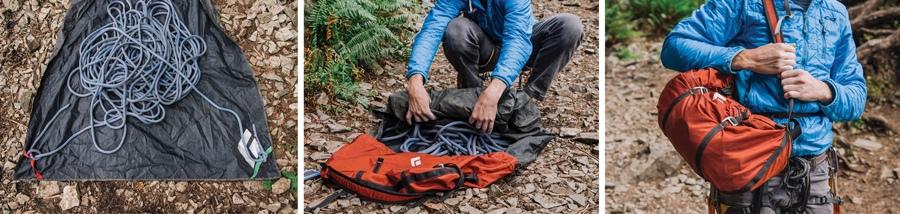 شستشوی طناب کوهنوردی