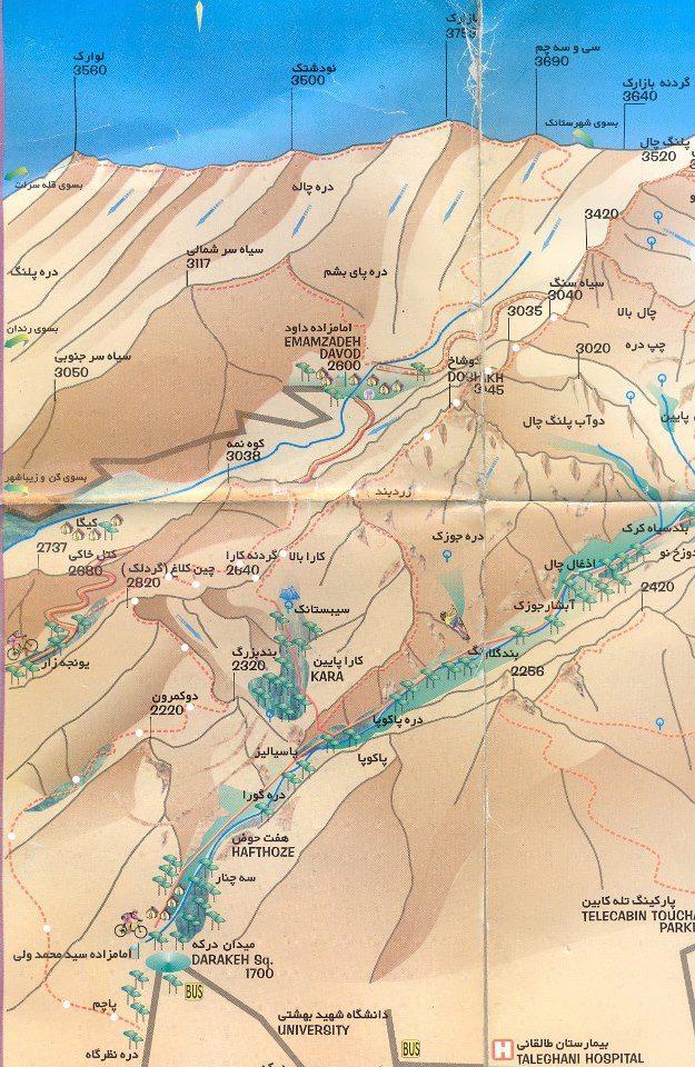 نقشه چین کلاغ