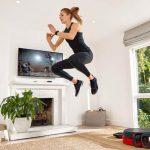 ورزش هوازی در خانه