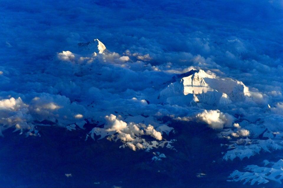 قله اورست از فضا