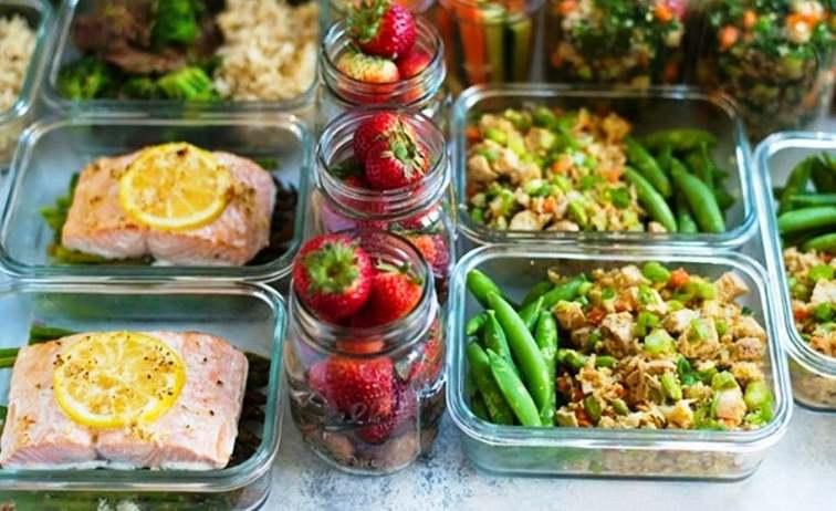 برنامه ریزی وعده های غذایی برای لاغری