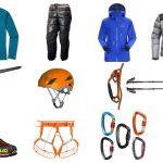 لیست لوازم کوهنوردی
