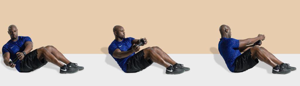 حرکات ورزشی برای لاغری پهلو