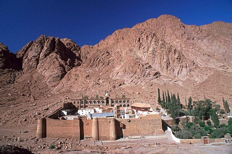 کوه سینا مصر چهارمین کوه مقدس جهان