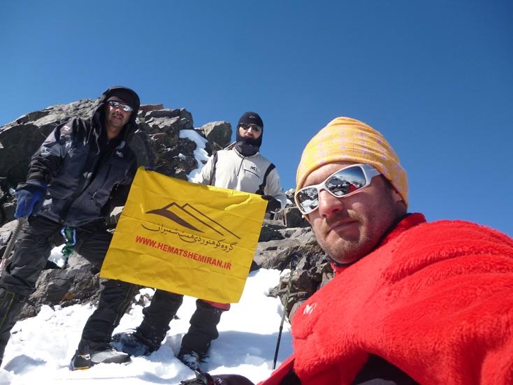 گزارش صعود به قله علم کوه