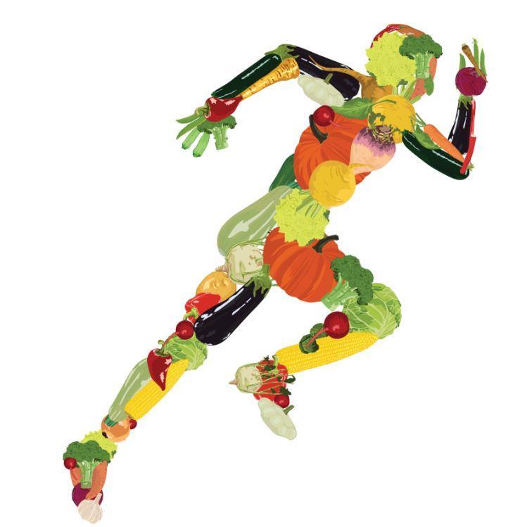 مواد مغذی برای دونده ها
